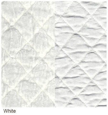 Image of Bella Notte Linens Silk Velvet Quilted Coverlet