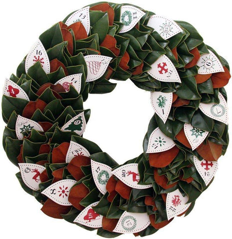 Advent Calendar Wreath by Magnolia at Kendall & Everett Home