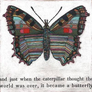 Sugarboo Designs Butterfly Inspirational Art Print