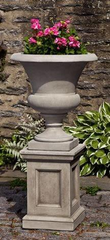 Image of Campania International Wilton Urn with Barnett Pedestal Kendall and Everett