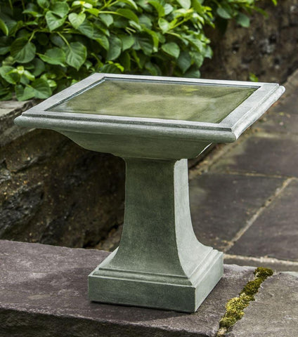 Campania International Avery Birdbath The Garden Gates