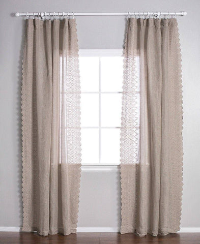 Pom Pom at Home Annabelle Curtain Panel The Garden Gates