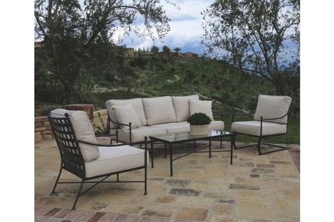 Image of Sunset West Provence Outdoor Sofa Collection with Rocker