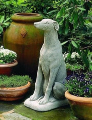 Campania International Greyhound Statue The Garden Gates