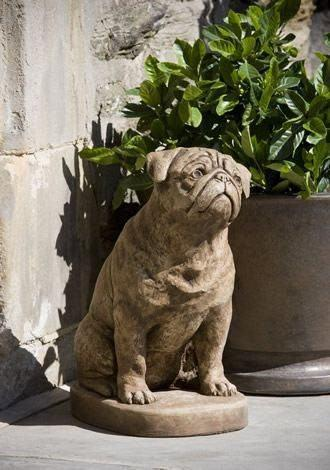 Image of Campania International Mugsy the Dog Statue Kendall and Everett