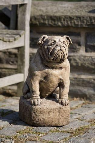 Campania International Petey Dog Statue The Garden Gates
