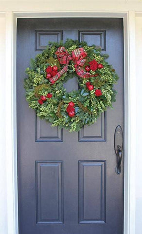 English Holiday Estate Wreath