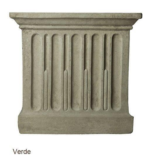 Campania International Barn Board Planter 14 Inches Kendall and Everett