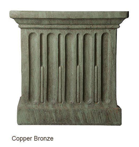 Image of Campania International ChÌ»nes Brut Tall Box Planter Kendall and Everett