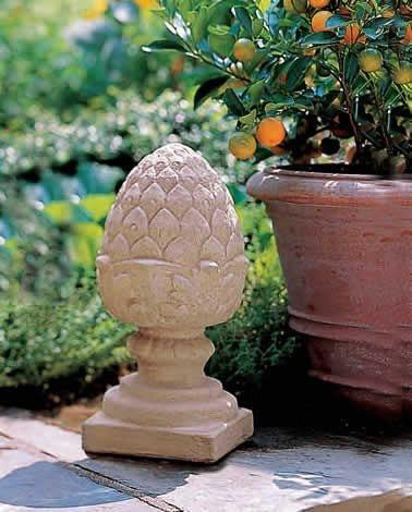 Campania International Small Pineapple Finial Kendall and Everett