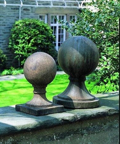 Campania International Small Sphere with Square Base Kendall and Everett