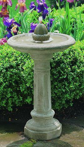 Campania International Acorn Fountain Kendall and Everett