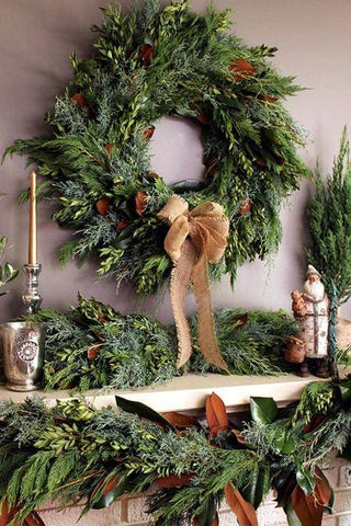 Fresh Bunches Wreath