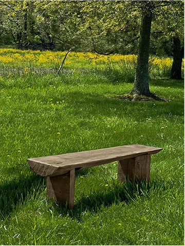 Image of Campania International Small Bois Garden Bench Kendall and Everett
