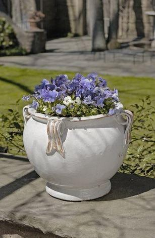 Campania International Round Handle Planter Kendall and Everett