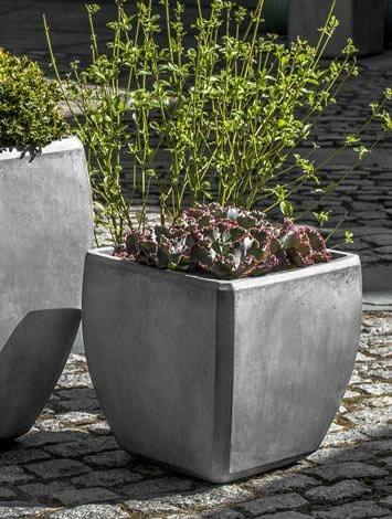 Campania International Urban Bevel Planter Set of 3 Kendall and Everett