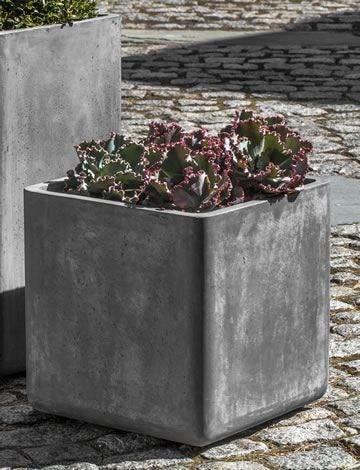 Campania International Urban Cube Planter - Set of 3 Kendall and Everett