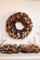 Golden Woodlands Wreath