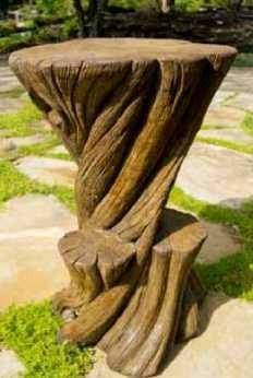 Image of Henri Studio Banyan Stool By Henri Studio The Garden Gates