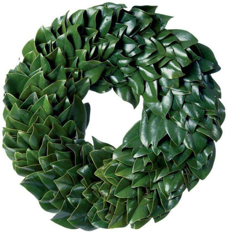 All Green Magnolia Wreath by Magnolia at Kendall & Everett Home