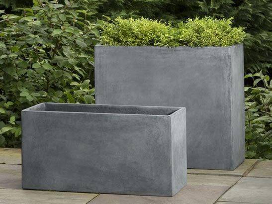 Modular Planters - Campania International Modular Planter 6 In Lead Lite