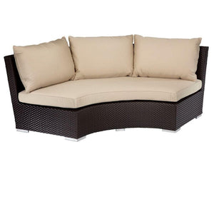 Solana 1/4 Round Sofa by Sunset West Kendall and Everett