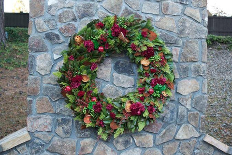 Season's Bounty Holiday Wreath