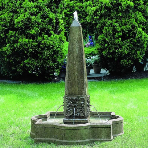 Image of Campania International Palazzo Obelisk Fountain Kendall and Everett