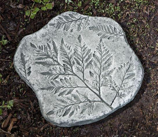 Campania International Fossil Fern Stepping Stone Kendall and Everett