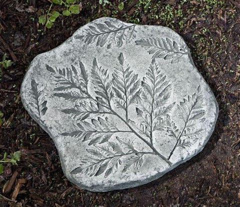 Image of Campania International Fossil Fern Stepping Stone Kendall and Everett