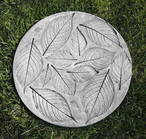 Campania International Hydrangea Leaf Stepping Stone Kendall and Everett