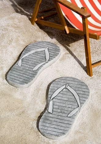 Campania International Right Flip Flop Stepping Stone Kendall and Everett