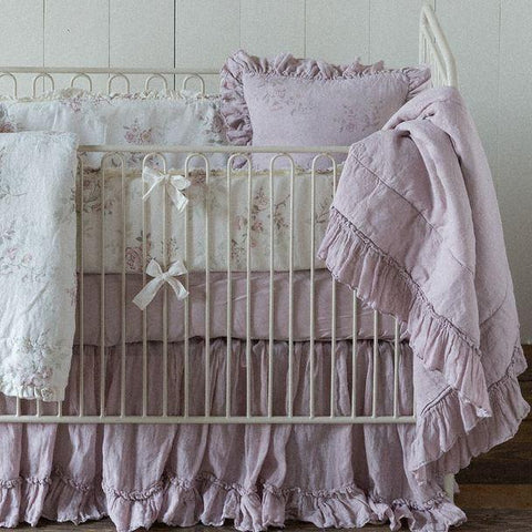 Bella Notte Linens Whisper Linen Baby Blanket The Garden Gates