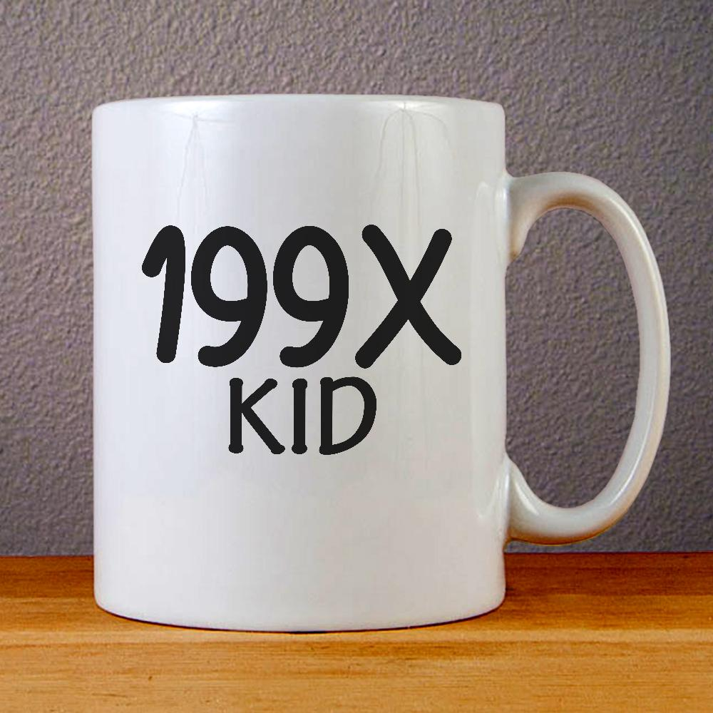 199X Kid Ceramic Coffee Mugs