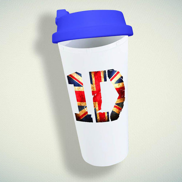 1D Logo, One Direction Double Wall Plastic Mug
