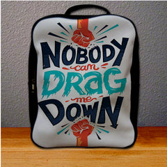 1D One Direction Drag Me Down Lyric Logo Backpack for Student