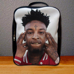 21 Savage Face Backpack for Student