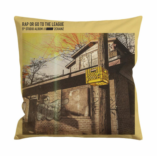 2 Chainz Rap or Go to The League Cushion Case / Pillow Case
