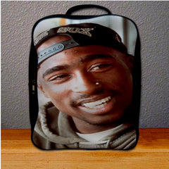 2pac Tupac Shakur Face Backpack for Student
