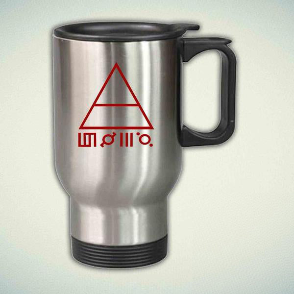 30 Second To Mars 14oz Stainless Steel Travel Mug