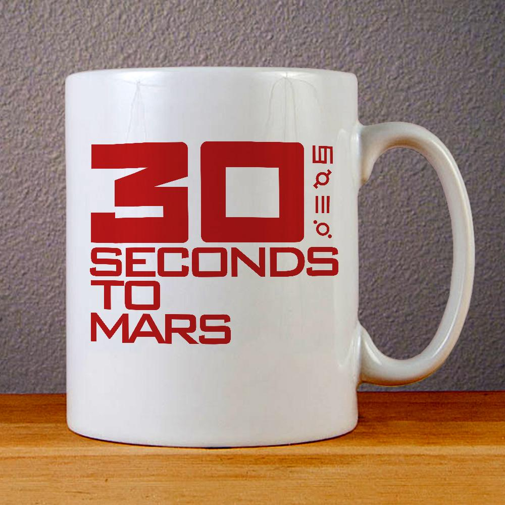 30 Seconds to Mars Ceramic Coffee Mugs
