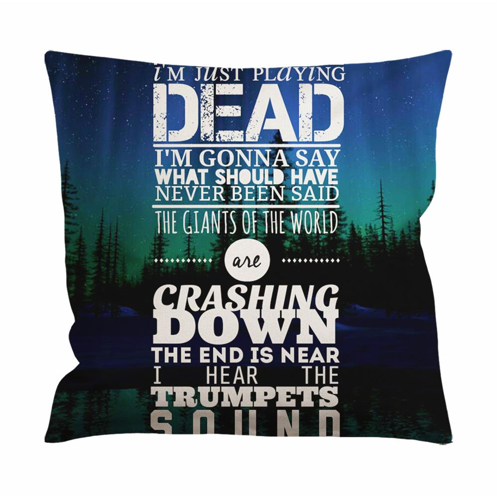 30 Seconds To Mars Northern Lights Cushion Case / Pillow Case