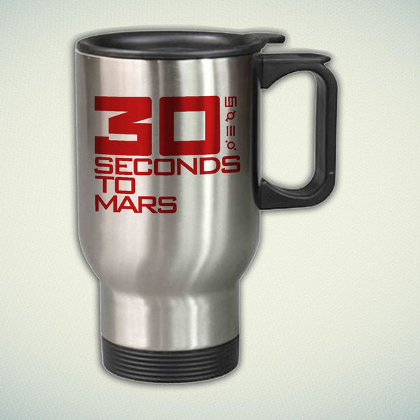 30 Seconds to Mars 14oz Stainless Steel Travel Mug