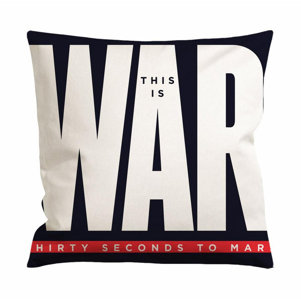 30 Seconds to Mars This is War Cushion Case / Pillow Case