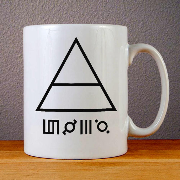 30 Seconds To Mars Triangle Ceramic Coffee Mugs