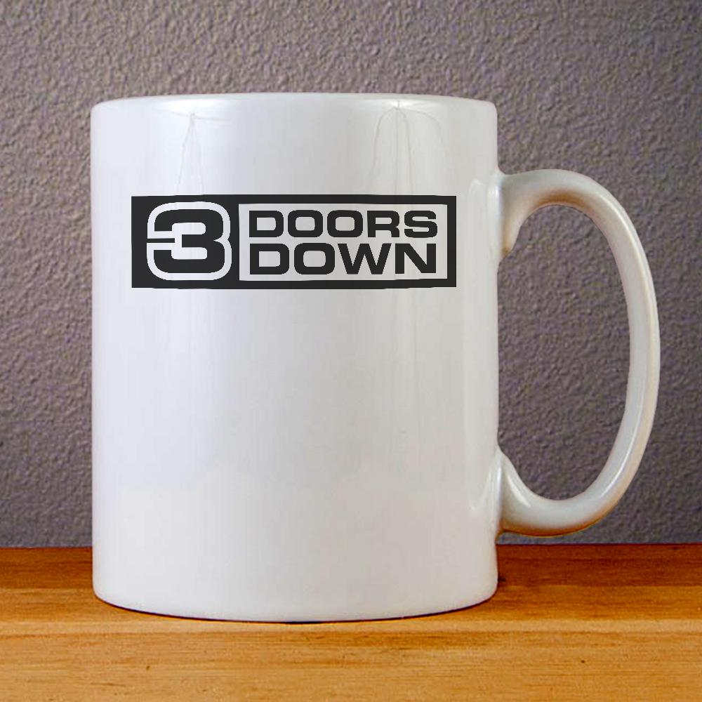 3 Doors Down Logo Ceramic Coffee Mugs