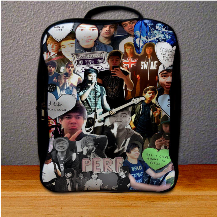 5SOS 5 Seconds Of Summer Collage Fun Art Backpack for Student