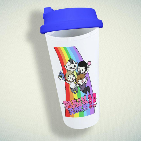 5SOS Punk Rock Double Wall Plastic Mug