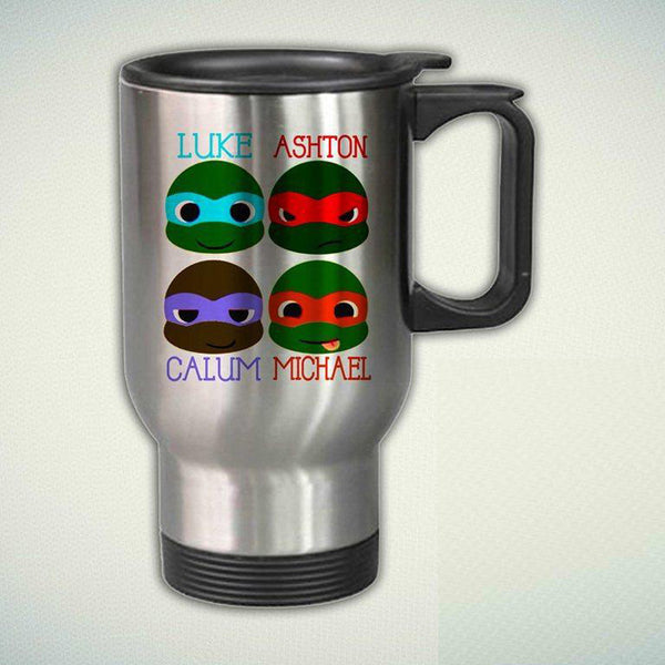 5 Second Of Summer, Ninja Turtles 14oz Stainless Steel Travel Mug