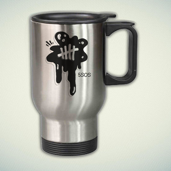 5 Seconds of Summer 2016 14oz Stainless Steel Travel Mug
